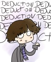 Sherlock loves deduction by dinosauriomutante