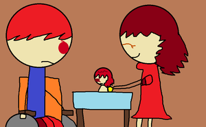 Scooter's Red Head Parents by hershey990