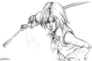 FFIX - Zidane Tribal by superfizz