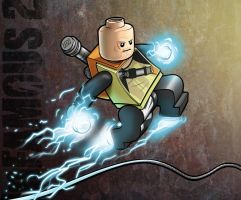 LEGO Cole MacGrath - Infamous 2 by RobKing21