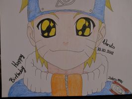 Happy B-day Naruto by Zebra1994