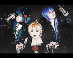 VOCALOID: Submerged in Black by skysplit