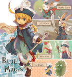 Blue Mages by doublejoker00