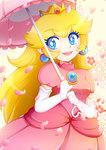 Princess Peach by Bunnyloz
