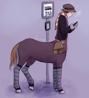 Bus Stop by dragontrash