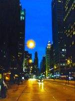 Magnificent Mile by KevinBurris