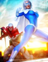 Hawk and Dove by PGandara