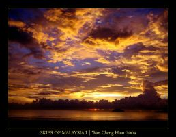 Skies of Malaysia I by wanchenghuat