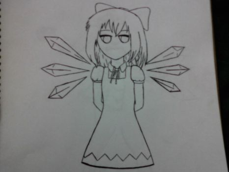 Cirno (Incomplete) by Brunner1