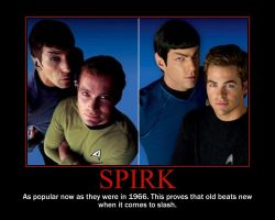 Spirk: Then and Now by DeathLife97