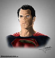 Henry Cavill the new MAN OF STEEL by Dreed-06