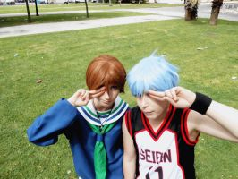 Riko and Kuroko: Tasukete!!! by Smexy-Boy