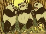 panda: the fight by klindicative