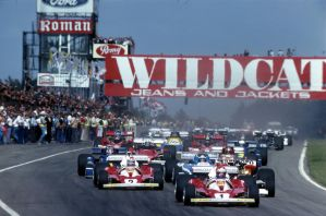 1976 Belgian Grand Prix Start by F1-history