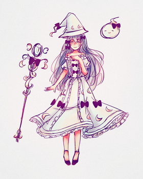 Witch Moon by Hakuni444