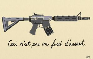Not a Rifle by thehaloequation