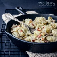 traditional polish dish - grey dumplings by Pokakulka