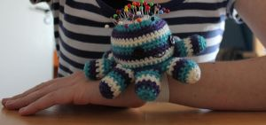 Octopus pincushion by jolieke10