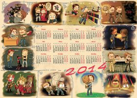 SPN 2014 A3 by Sunday779