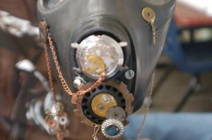 Steam Punk Gas Mask WIP IV by Leah-the-Red