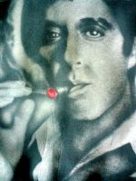 Tony Montana Scarface Jacket by Kenmega87