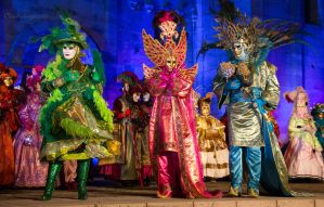 Princesses of Colors - Carnival of Venice 2015 by Cloudwhisperer67