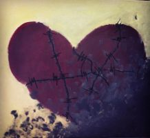 Love is like Barbed Wire. It hurts. by anonymousnekodos