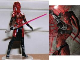 Darth Talon by Jedi-Mathyus