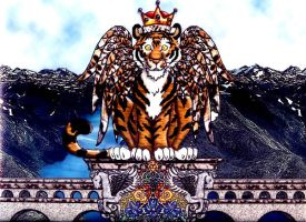 The Winged Tiger King by Abundant-Nature-1111