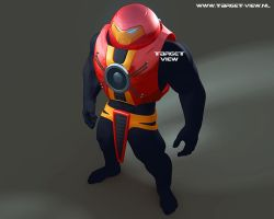 Battlesuit Mark IV wip1 by TargetView