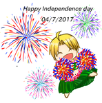 (APH) Happy Independence day America by madisoncamellia