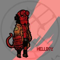 Hellboy by Glass-no-E