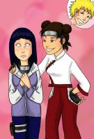 Contest Entry - TenTen and Hinata by appleshiner