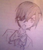 Ciel Phantomhive Sketch by Daughter-of-Kabegami