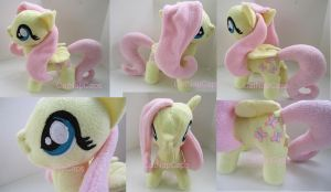 Fluttershy Fan Art Plush 1 by CatNapCaps