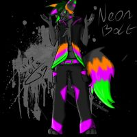 Neon Bolt *What?* by Greenlightnin93