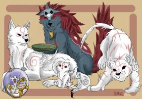 Okami- Group by Zrien