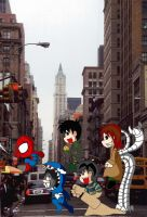 .: Spiderman Enemies XD :. by mitsugu