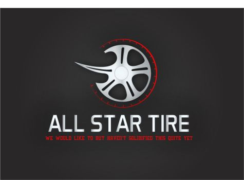 All Star Tire Logo by blazzer22