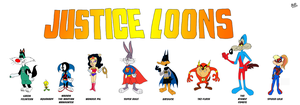 The Justice Loons by TuxedoMoroboshi
