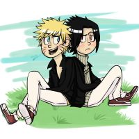Chilin in the park by Kimbolt-Prime