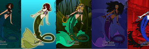 Mermaids by supereilonwypevensie