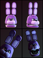 Blender Doodles(?): Bonnie Bunny! by SmashingRenders