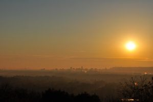 Sunrise Over the Steel City 2012 by insanity-pillz