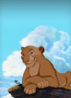 The lion king by Diego32Tiger