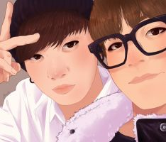 BTS - Vkook by LaiSoo