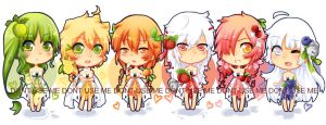 Fruit Chibis by Quiss