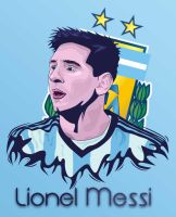 Lionel Messi World Cup 2014 by dicky10official