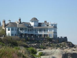 Private property in York beach, Maine by Pabloramosart