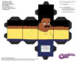 FG2: Cleveland Brown Cubee by TheFlyingDachshund